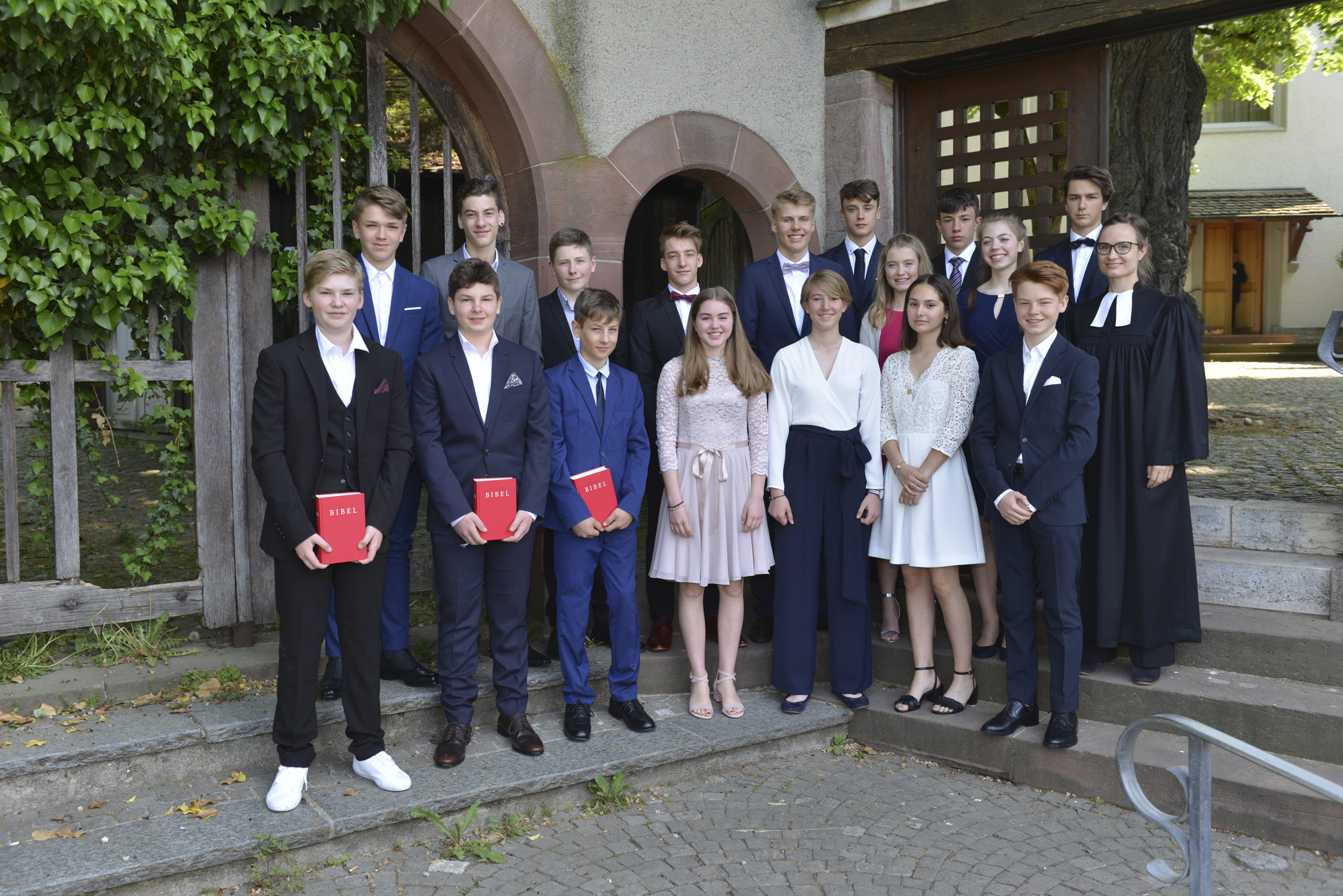 Gruppenfoto Konfirmation