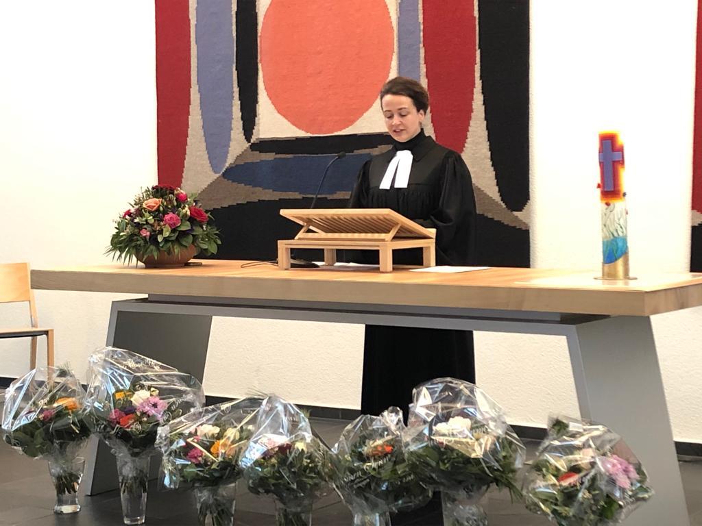 Einsetzungsgottesdienst Kirchenpflege