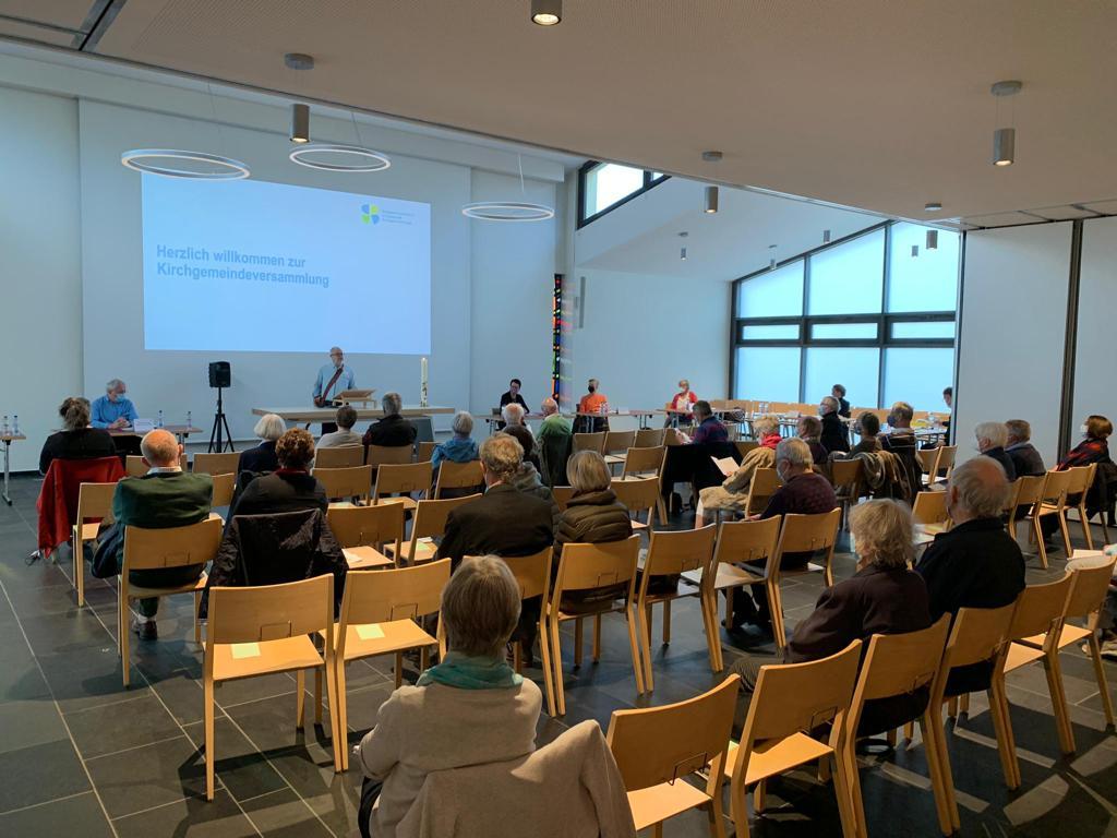 Kirchgemeindeversammlung 29.04.2021
