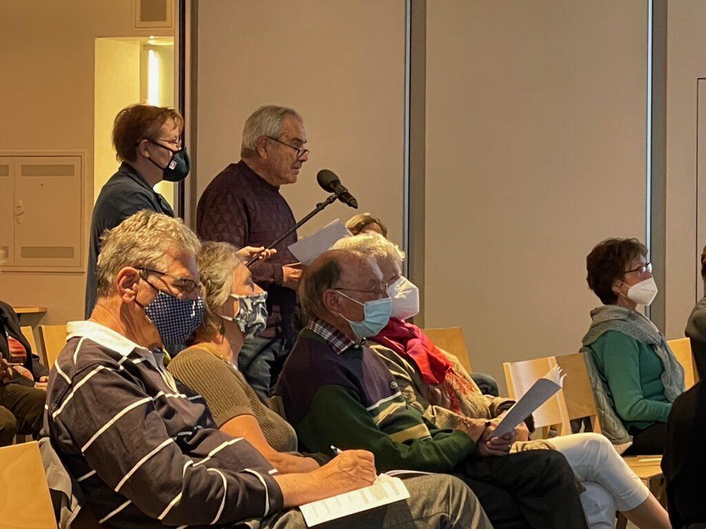 Kirchgemeindeversammlung FJ'21